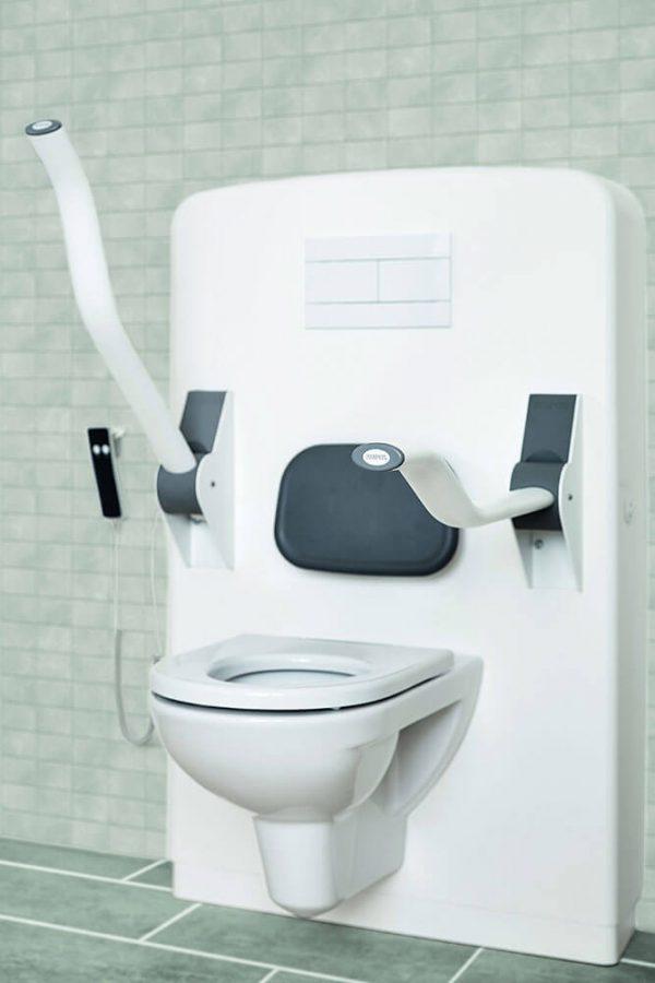 cadre de WC réglable électrique