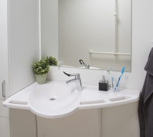 Lavabo d'angle SUPPORTline