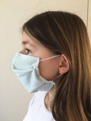 Masque en tissu réutilisable 80 lavages